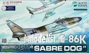 KH32008 KittyHawk 1/32 Самолет F-86K
