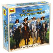 8935 Звезда Настольная игра «д'Артаньян и три мушкетера»