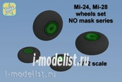 NS72089-a North Star 1/72 Wheels set for