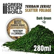 10514 Green Stuff World Рассеянная листва - тёно-зелёная, 280 мл / Scatter Foliage - Dark Green - 280 ml