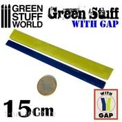 9864 Green Stuff World Шпаклёвка в виде ленты 15 см с разделением / Green Stuff Tape 6 inches WITH GAP