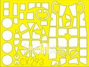 CX293 Eduard 1/72 Маска для Do 17Z