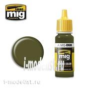 AMIG0068 Ammo Mig Краска акриловая IDF GREEN (зеленый камуфляжный)