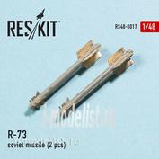 RS48-0017 RESKIT 1/48 P-73 Soviet rocket (2 pcs.)