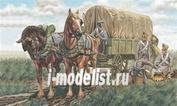 6017 Italeri 1/72 French Supply Chariots