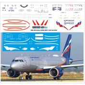 320-40 PasDecals 1/144 Decal for 320 NEO Aeroflot