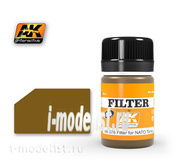 AK076 AK Interactive Filter for applying effects FILTER FOR NATO TANKS (filter for NATO tanks)