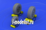 648017 Eduard 1/48 Набор дополнений F-22A wheels