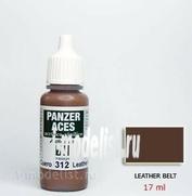 70312 Vallejo acrylic Paint `Panzer Aces` Leather belt/Leather belt