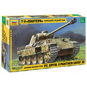 3678 Звезда 1/35 Немецкий средний танк Т-V