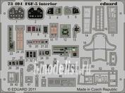 73404 Eduard 1/72 Фототравление для F6F-5 interior S.A.  Weekend