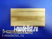 PL07 Plate Подставка для модели (не покрытая) 185x90 мм