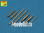 A48 113 Aber 1/48 Armament for German fighter Me 109G-5 to K-6, very useful tru looking additional parts