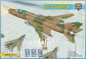 72051 Modelsvit 1/72 Двухместный учебно-боевой истребитель-бомбардировщик Суххой-22УМЗК