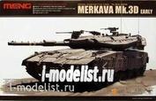 TS-001 Meng 1/35 Израильский основной боевой танк Merkava Mk.3D Early