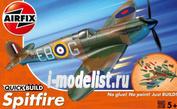 J6000 Airfix Самолет Spitfire (сборка без клея)