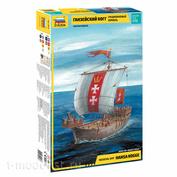 9018 Zvezda 1/72 Ship Hanseatic kogg