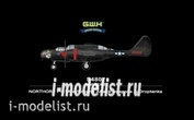 S4807 Great Wall Hobby 1/48 NORTHORP P-61A with Ground Attack weapons & Droptanks