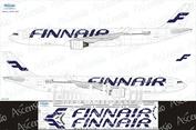 333-005 Ascensio 1/144 Декаль на самолёт Airbu A330-300 (Finnair)