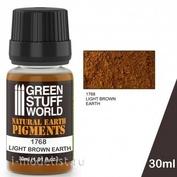 1768 Green Stuff World Сухой пигмент цвет