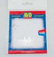 AVD243012102 AVD Models 1/43 Пусковая рукоятка, 2 шт