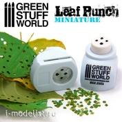 1353 Green Stuff World Инструмент для создания листьев лайма, светло-синий / Miniature Leaf Punch LIGHT BLUE