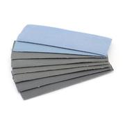 4619 JAS Velcro sandpaper Set, P2000, P2500, P3000, P5000, 30x90mm, 8 PCs