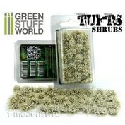 1307 Green Stuff World Пучки самоклеящихся цветов, 6 мм - белые / Shrubs TUFTS - 6mm self-adhesive - WHITE