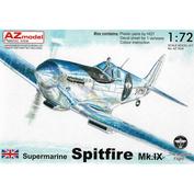 AZ7634 AZ Model 1/72 Supermarine Spitfire Mk.IX