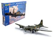 04297 Revell 1/48 Самолёт B-17F Memphis Belle