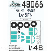 48066 SX-Art 1/48 Окрасочная маска Ла-5ФН (Звезда)
