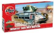 1318 Airfix 1/76 Matilda Tank