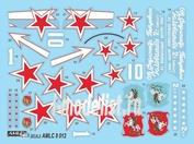 AMLC 8 012 AML 1/48 Декаль для Soviet Aces in Yakovlev Yak-3's 2 decal versions : Yak-3, Part I