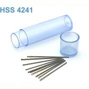 42261 JAS Мини-сверло HSS 4241 титановое покрытие d 0,6 мм 10 шт.