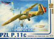 48103 Mirage Hobby 1/48 PZL P.11c Romanian Air Force 1942