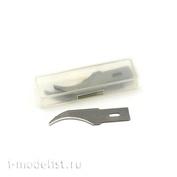4801 JAS Набор лезвий к ножу,  0,6 х 9 х 45 мм, 6 шт./уп.
