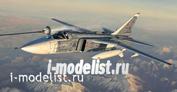 01673 Я-моделист клей жидкий плюс подарок Trumpeter 1/72 Su-24M Fencer-D