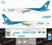 752-007 Ascensio 1/144 Декаль на самолет боенг 757-200 (Pegus)
