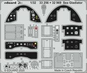 32969 Eduard 1/32 Фототравление для Sea Gladiator