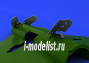 648146 Eduard 1/48 Дополнение MiG-21PF/ PFM/ R airbrakes