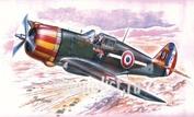 A045 Azur 1/32 Самолет H-75A-1/2/3 Hawk HI-TECH