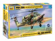 7246 Звезда 1/72 Российский ударный вертолёт Ми-28А