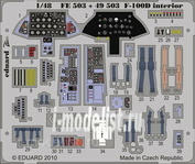 FE503 Edward 1/48 Color photo-etching for F-100D interior S. A.