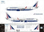 738-001 Ascensio 1/144 Декаль на самолет боенг 737-800 (трансэро)