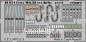 49624 Eduard 1/48 Фототравление для Lynx Mk.88 seatbelts