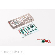 3DL72002 Eduard 1/72 3D Decal for MiG-21MF SPACE and Steel belts