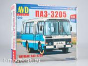 4040AVD AVD Models 1/43 ПАЗ-3205 пригородный