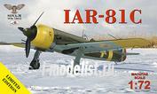 SVM-72012 Sova-M 1/72 IAR-81C