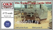 72011 OKB Grigorov 1/72 USA Tracked Cargo Carrier M548