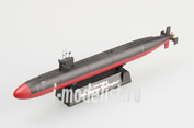 37305 Easy model 1/700 Assembled and painted model USS submarine. SSN-688